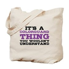 Colorguard Thing Tote Bag
