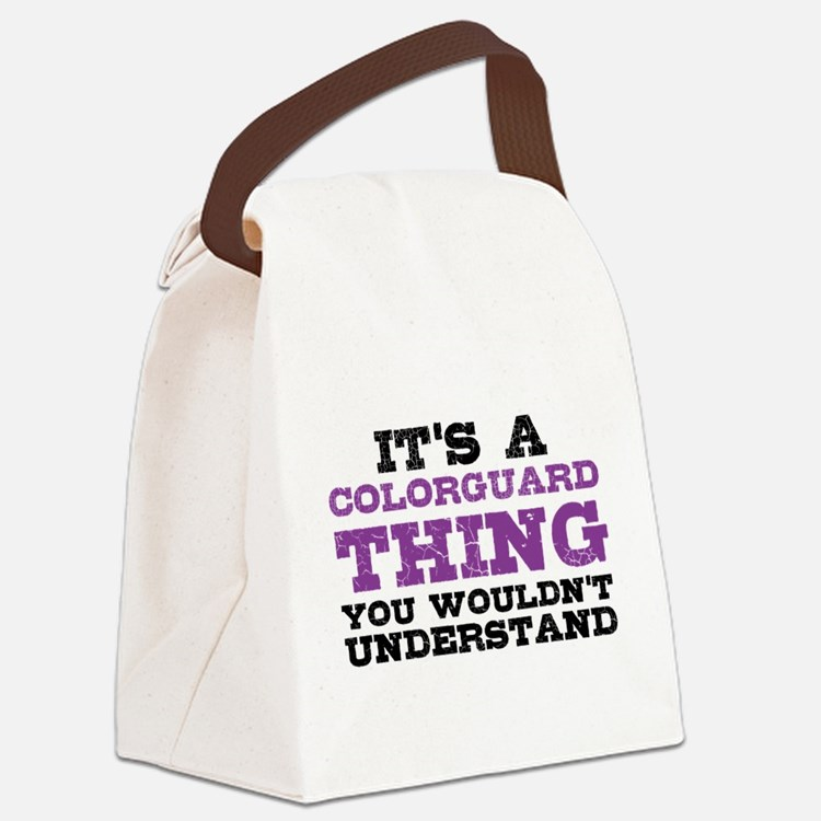 Colorguard Thing Canvas Lunch Bag