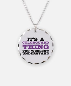 Colorguard Thing Necklace