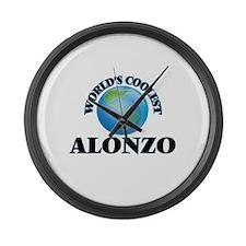 World's Coolest Alonzo Large Wall Clock