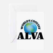 World's Coolest Alva Greeting Cards