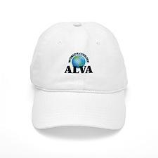 World's Coolest Alva Baseball Cap