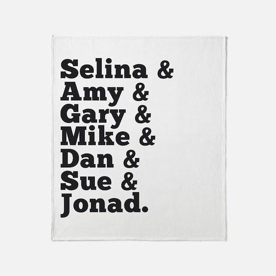 "Veep Humorous ""Jonad"" Throw Blanket"