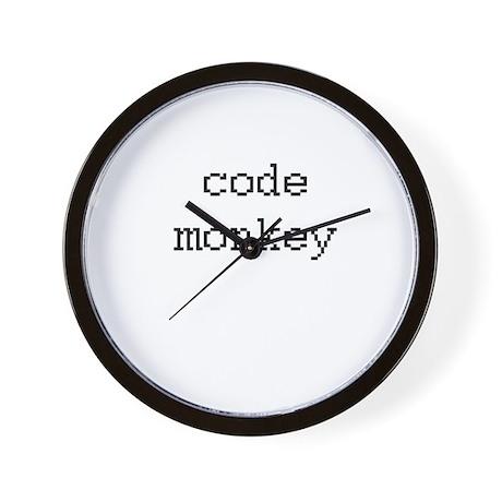code monkey Wall Clock