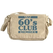 VIP Member 60th Birthday Messenger Bag
