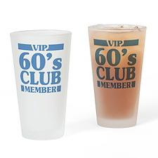 VIP Member 60th Birthday Drinking Glass
