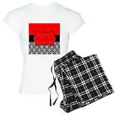 Personalizable Red Black Pajamas