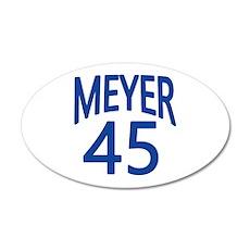 VEEP Meyer 45 20x12 Oval Wall Decal