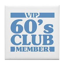 VIP Member 60th Birthday Tile Coaster