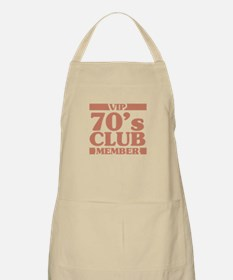 VIP Member 70th Birthday Apron