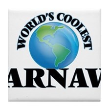 World's Coolest Arnav Tile Coaster