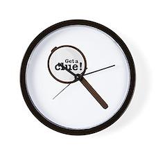Get A Clue Wall Clock