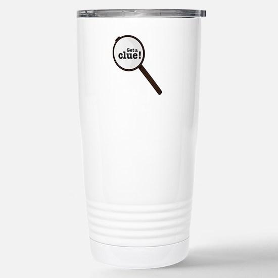 Get A Clue Travel Mug