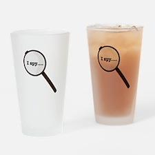 I Spy Drinking Glass