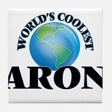 World's Coolest Aron Tile Coaster