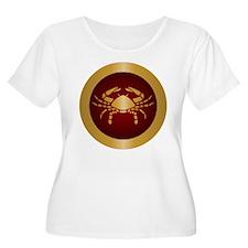 Cancer Gold Plus Size T-Shirt