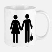 Man+Woman+Banjo Mugs