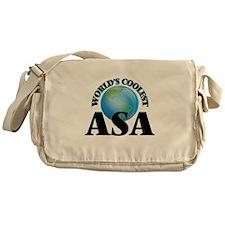 World's Coolest Asa Messenger Bag