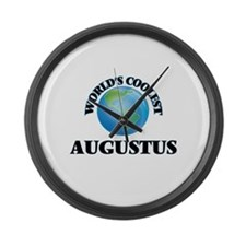 World's Coolest Augustus Large Wall Clock