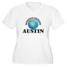 World's Coolest Austin Plus Size T-Shirt