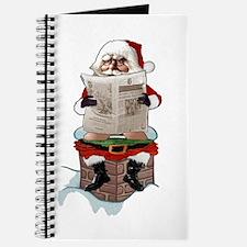 "Santa Claus ""Party Pooper"" Christmas Journal"
