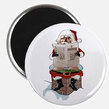 "Santa Claus ""Party Pooper"" 2.25"" Magnet (10 pack)"