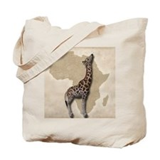 Out of Africa Giraffe Tote Bag