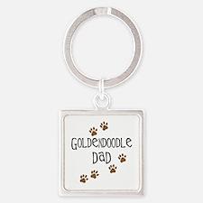 Goldendoodle Dad Keychains