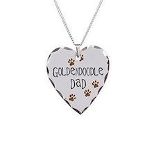 Goldendoodle Dad Necklace