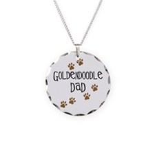 Goldendoodle Dad Necklace