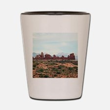 Arches National Park, Utah, USA 13 Shot Glass
