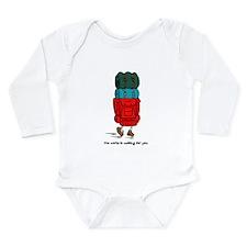 Cute World travel Long Sleeve Infant Bodysuit