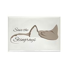 Save the Stingrays Magnets