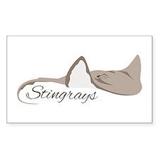 Sea Stingrays Decal