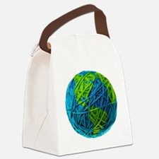 Unique South america Canvas Lunch Bag