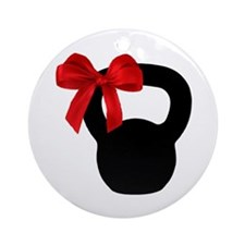 KB Wrapped Ornament (Round)