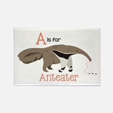 A is for Anteater Magnets