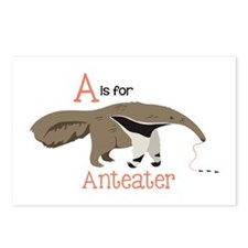 A is for Anteater Postcards (Package of 8)