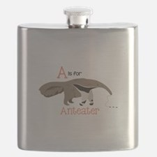 A is for Anteater Flask