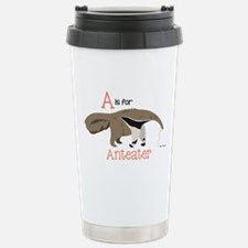 A is for Anteater Travel Mug