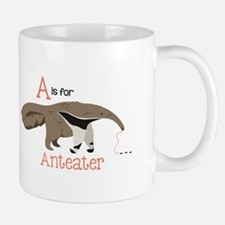 A is for Anteater Mugs