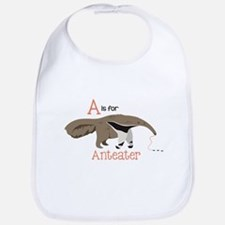 A is for Anteater Bib