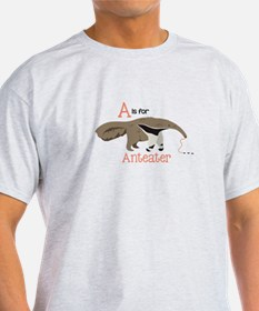 A is for Anteater T-Shirt