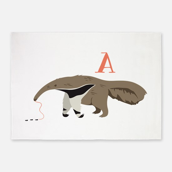 A Ants Anteater 5'x7'Area Rug