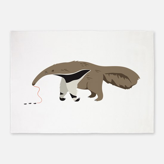Anteater Ants 5'x7'Area Rug