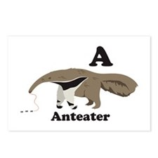 A Anteater Postcards (Package of 8)