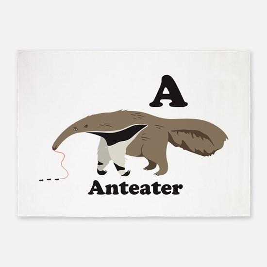 A Anteater 5'x7'Area Rug