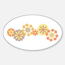 Floral Border Decal
