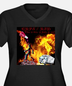 CRPS RSD This is how it Feels to Plus Size T-Shirt