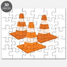 Traffic Cones Puzzle